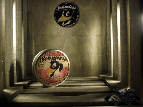 "Pomade ""Schmiere Sh-Boom"" mittel Rumble59"