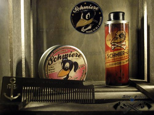 "Set Pomade ""Schmiere Sh-Boom"" mittel Rumble59"