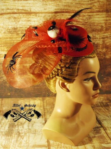 "Fascinator ""Halloween"""