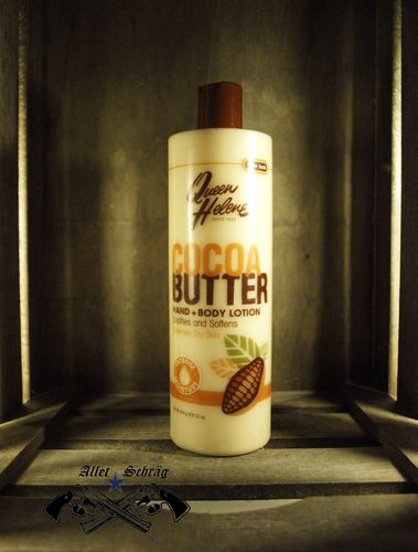 "Hand u. Body Lotion ""Cocoa Butter"" Queen Helene"