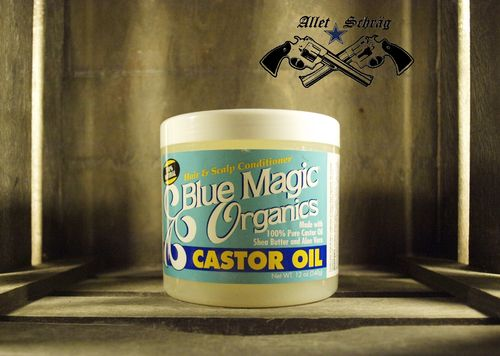 "Pomade ""'Blue Magic Organics Castor Oil"""